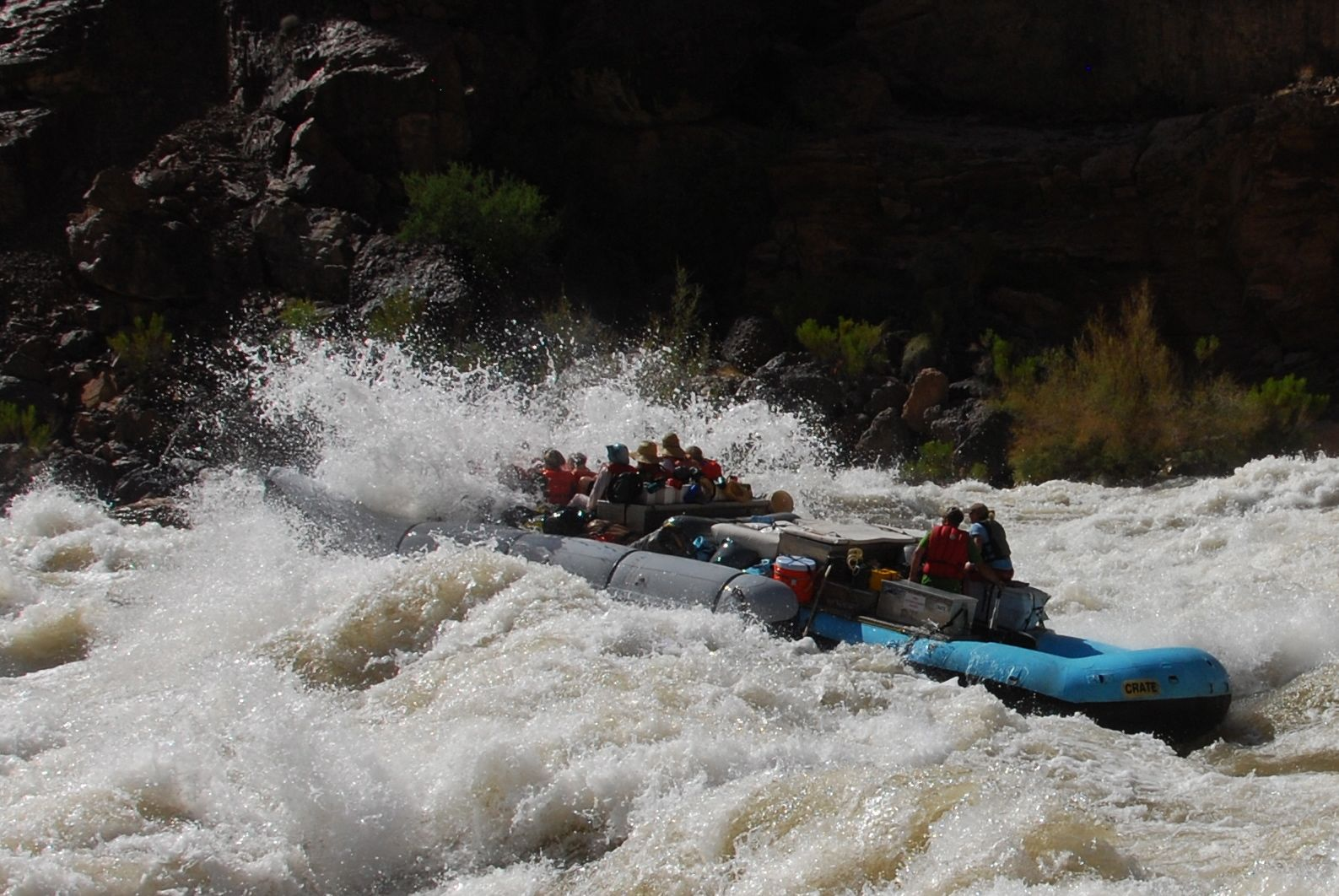 Rafting the Grand Canyon is a Must!!