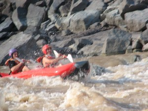 2-Man Paddling Team Challenges Desolation Canyon Rapids