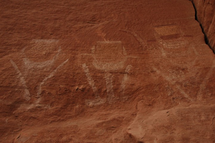 Ancient Rock art in Canyonlands National park
