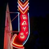 Ray's Tavern Neon Sign Glows Brightly