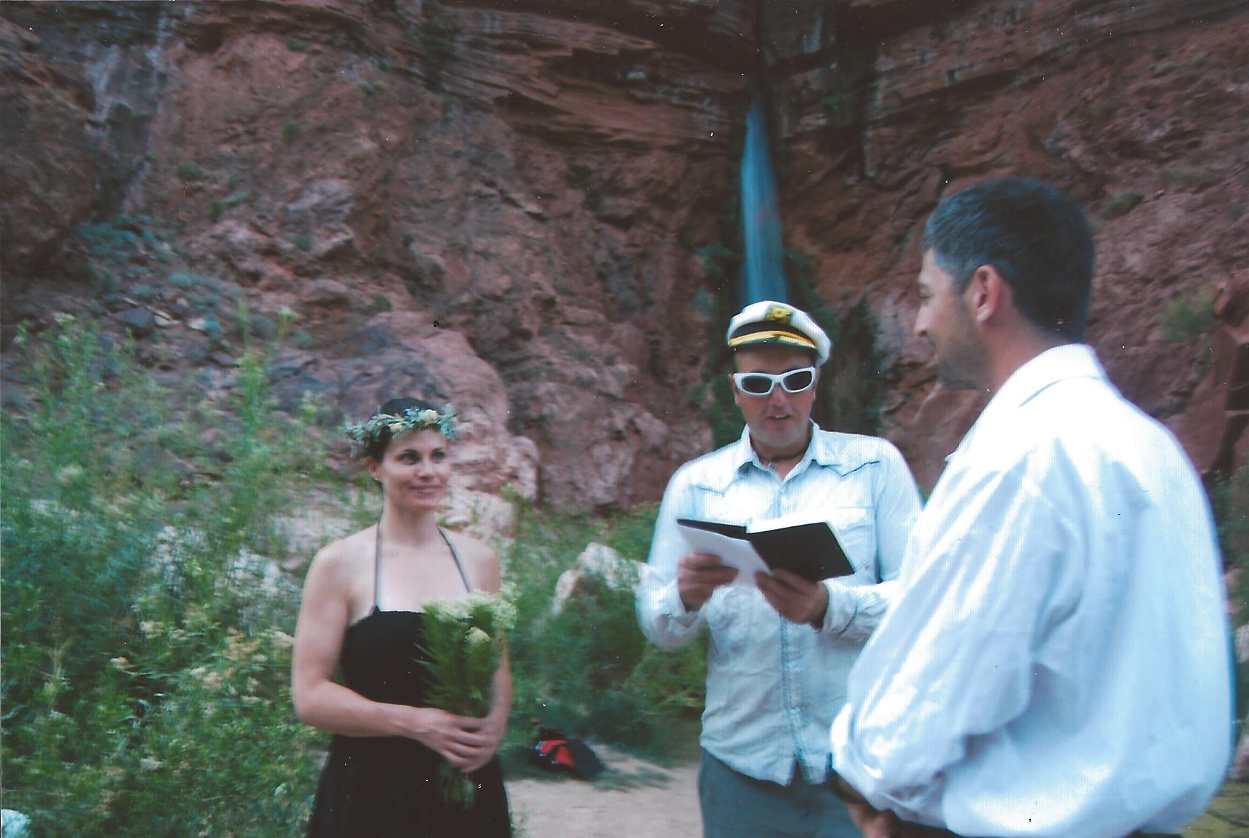 The Deer Creek Falls ceremony in Aug. 2013