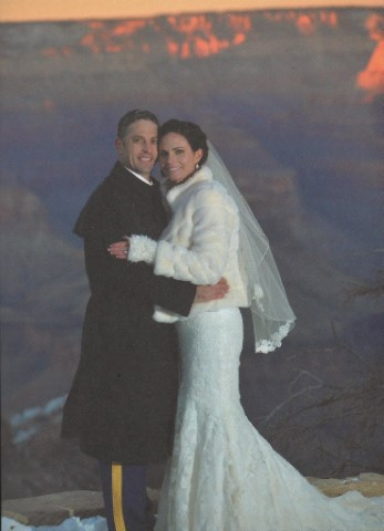 "The ""formal"" wedding on the South Rim of Grand Canyon."