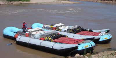 37-foot Motorized Raft