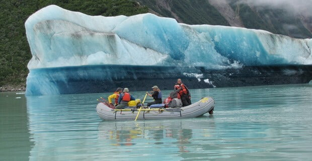Iceberg at Alsek Lake