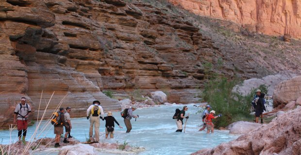 Blue Water of Havasu Creek