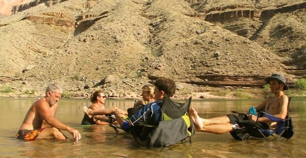 Enjoying the Colorado River