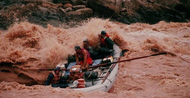 Crystal Rapid in a Rain Storm