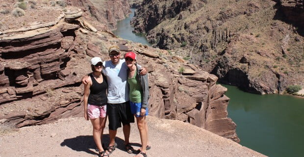 The Top of Deer Creek Falls