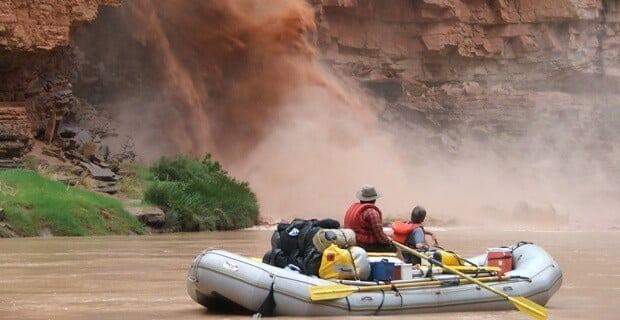 Side Canyon Flash Flood