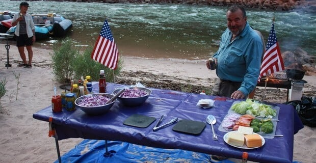 Celebrating the 4th of July River Style
