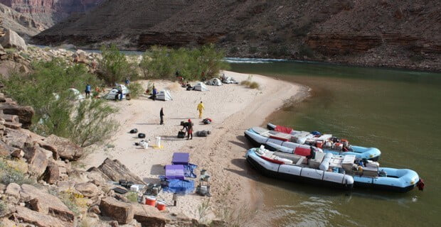 Camping Above Little Colorado River