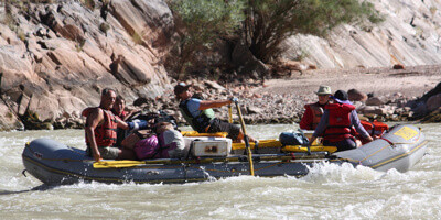 Rowing Raft – Grand Canyon