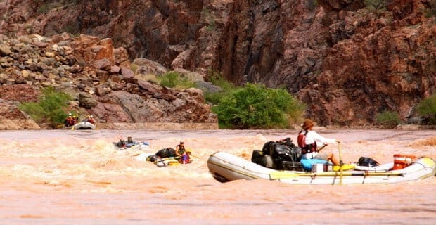 Oar Boats Granite Gorge
