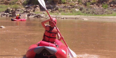 Inflatable Kayak – One Day