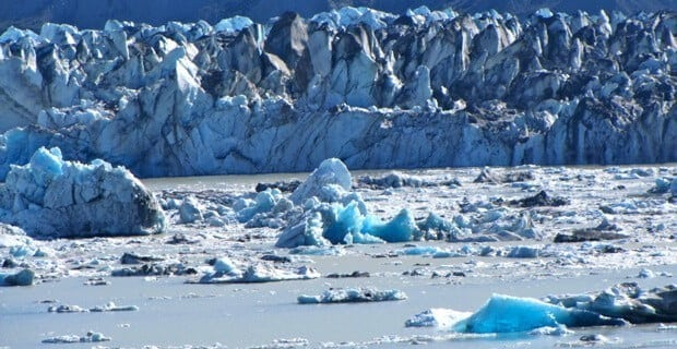 Lowell Glacier Ice