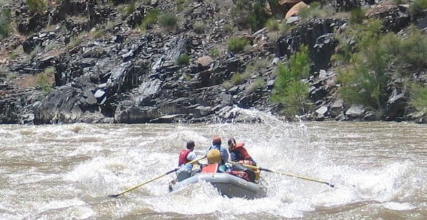 Westwater is Great Rafting