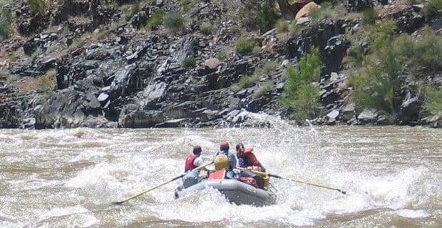 Westwater is Great Rafting