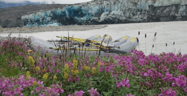 Rafting on the Alsek