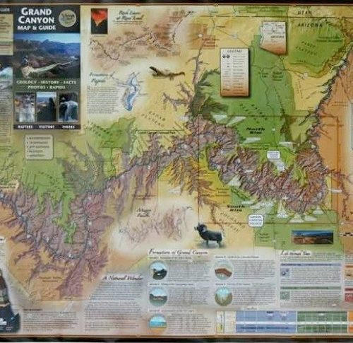 Grand Canyon Map and Guide