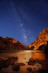 Grand Canyon Night Sky