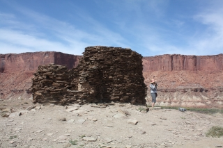 Ruin in Canyonlands National Park
