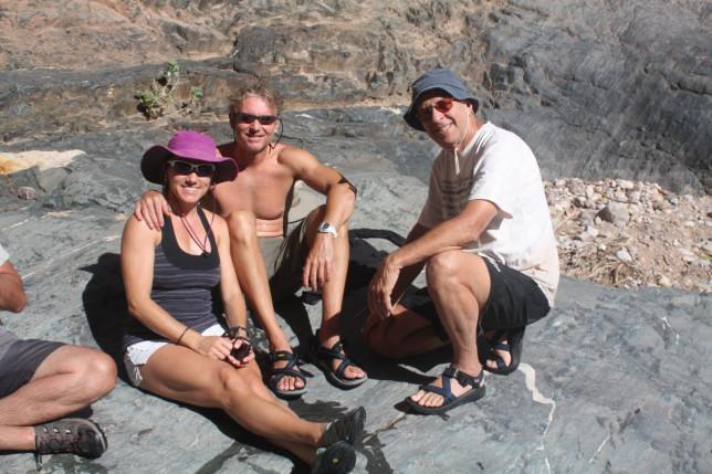 rafting and hiking